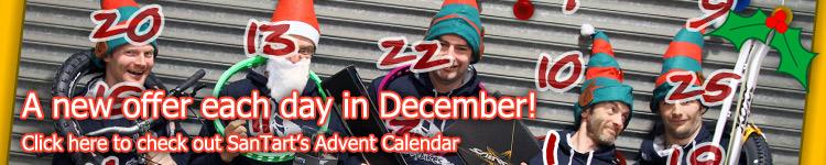 SanTart's Advent Calendar