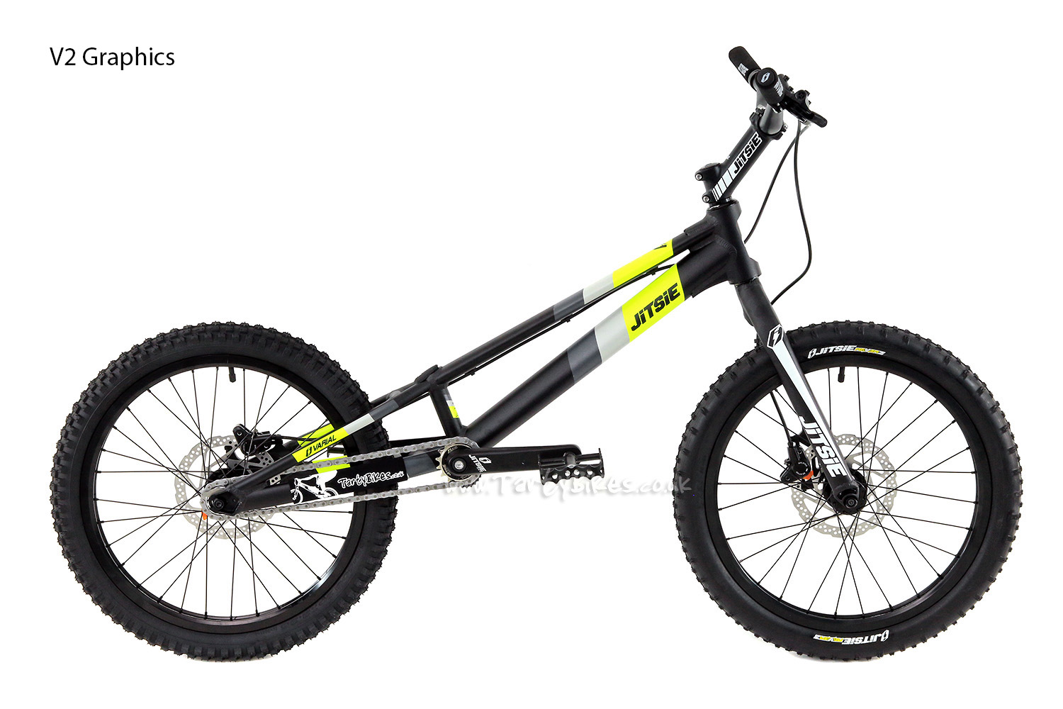 "Jitsie Varial 920 Kids 20"" (Inc FREE Upgraded Pedals!)"