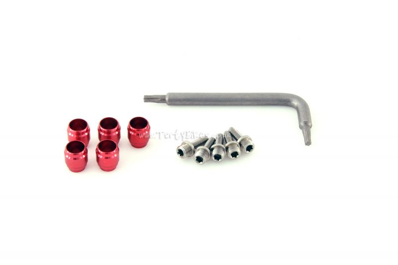 Avid / SRAM Olive And Barbed Insert Fitting Kit (Inc. T8 Key)