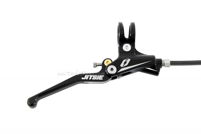 Jitsie Race Disc Complete Brake (No rotor or adaptor)