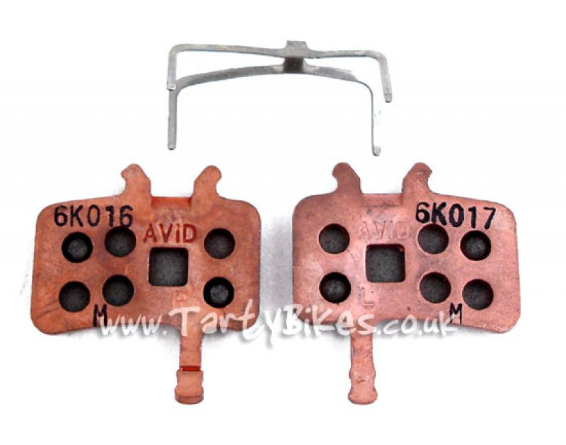 Avid BB5, BB7 & Juciy Series Pads