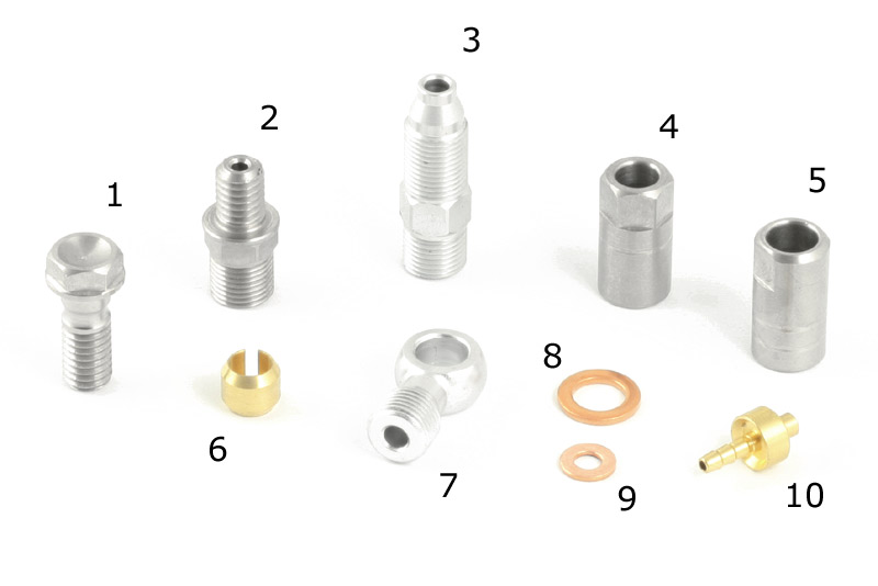 Hope Hose Spare Fittings