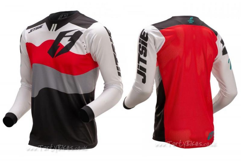 Jitsie K3 Wave Kid Long Sleeve Jersey