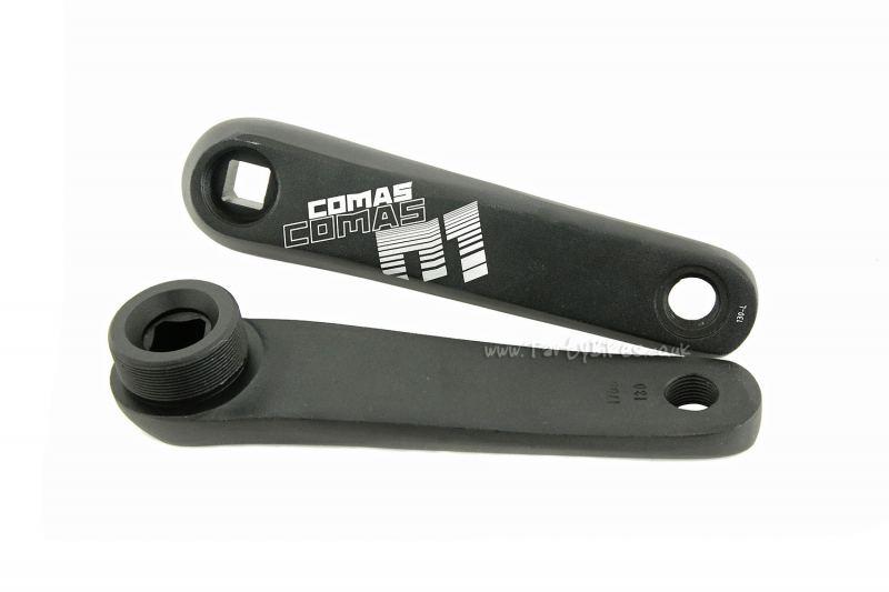 Comas Square Taper Cranks (Pair)