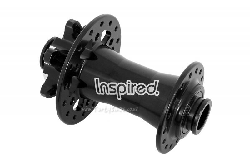 Inspired Front Disc Hub (15mm Through Axle)