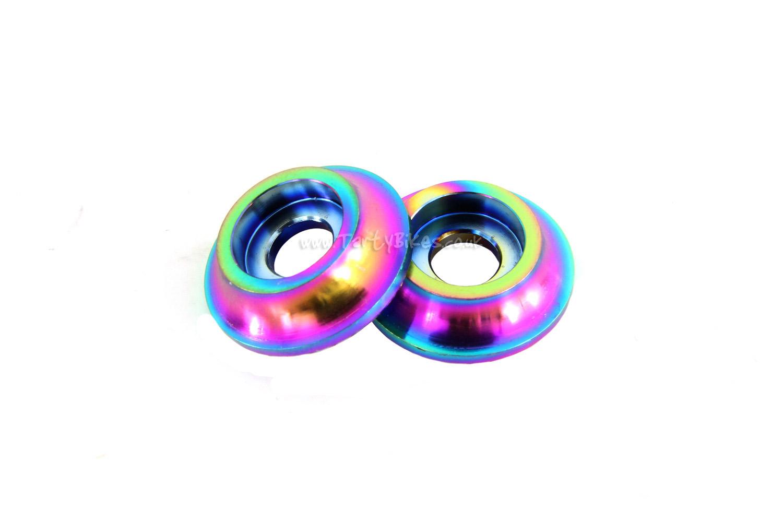 Stan Titanium Axle Bolt Washers (Pair)