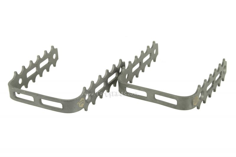 Racing Line Titanium Pedal Cages
