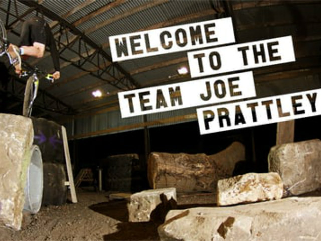 Joe Prattley - Welcome to the Team!