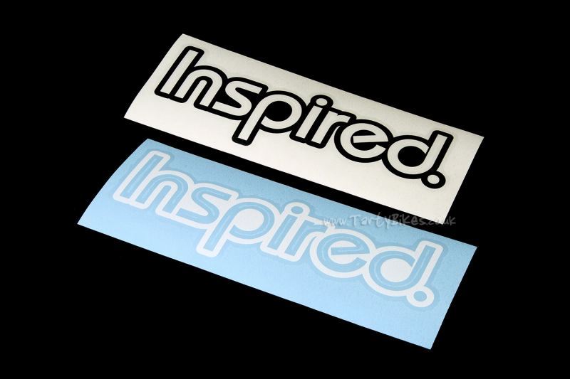 Inspired Vinyl Sticker