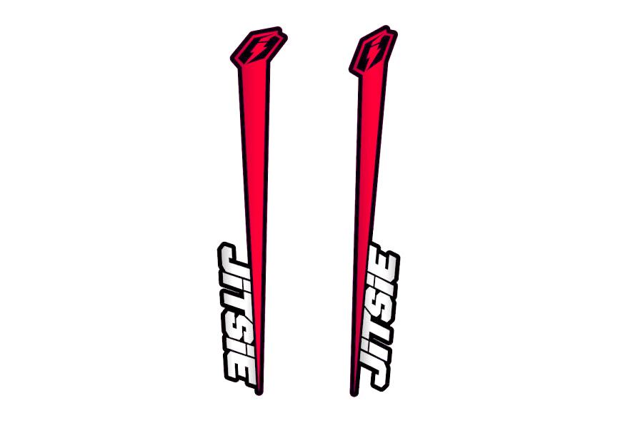 Jitsie Varial Fork Sticker Kit
