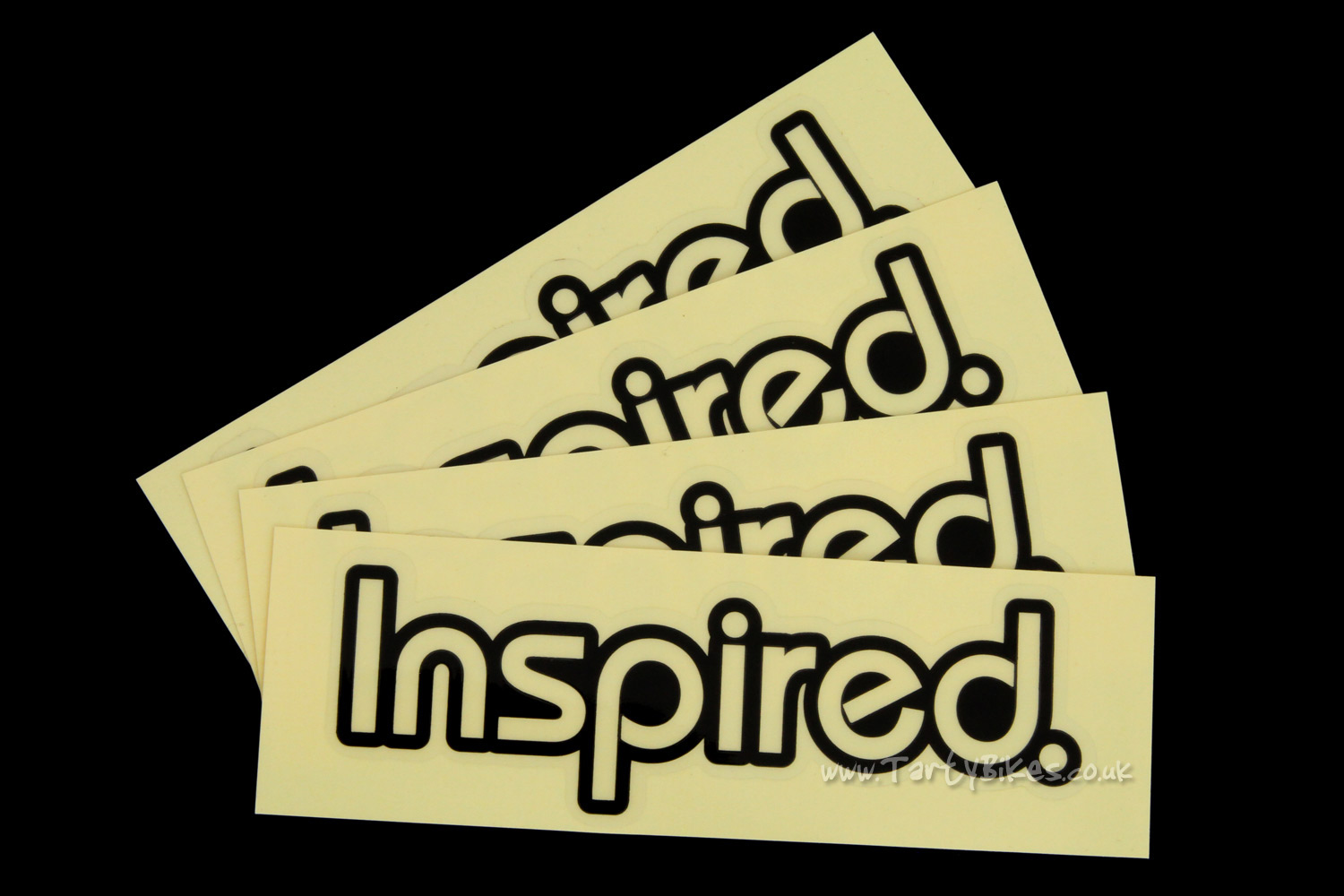 Inspired Printed Stickers
