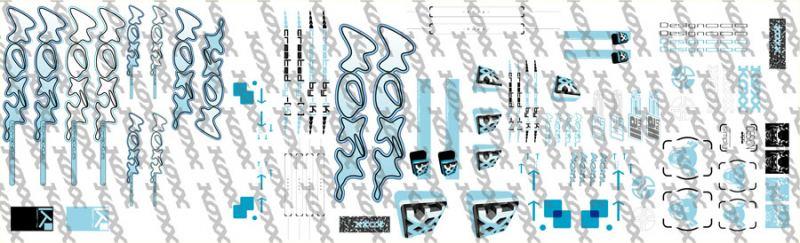 Koxx Simple Sticker Kit