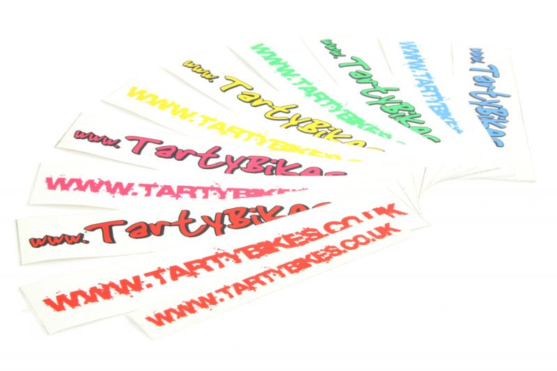 TartyBikes V1 / V2 Sticker