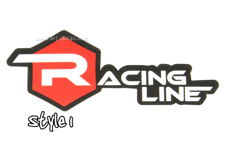 Racing Line Sticker (90mm x 58mm)