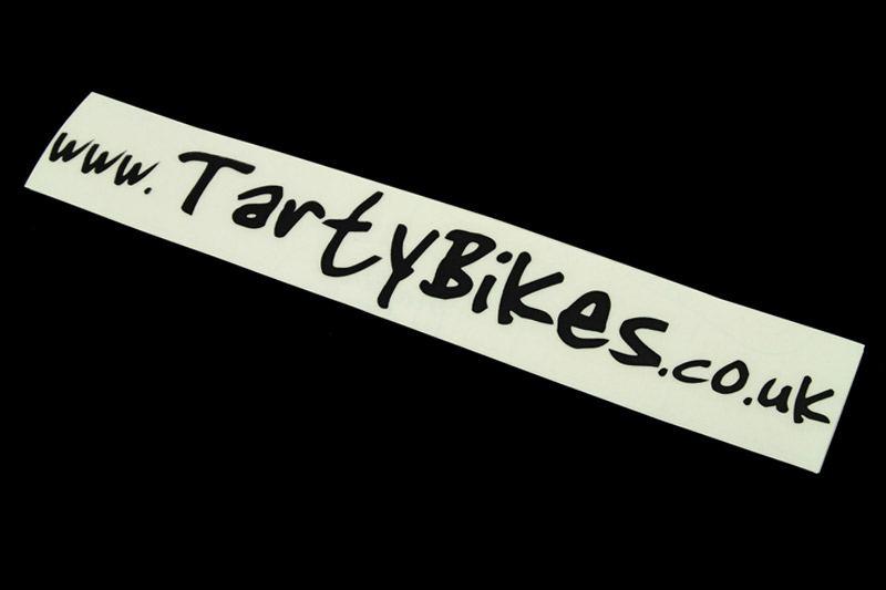 TartyBikes Vinyl Sticker