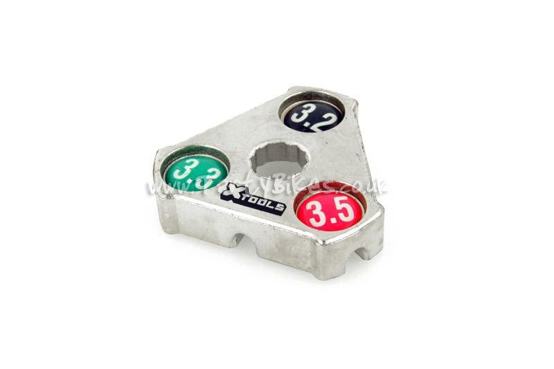 X-Tools 3-Way Spoke Key