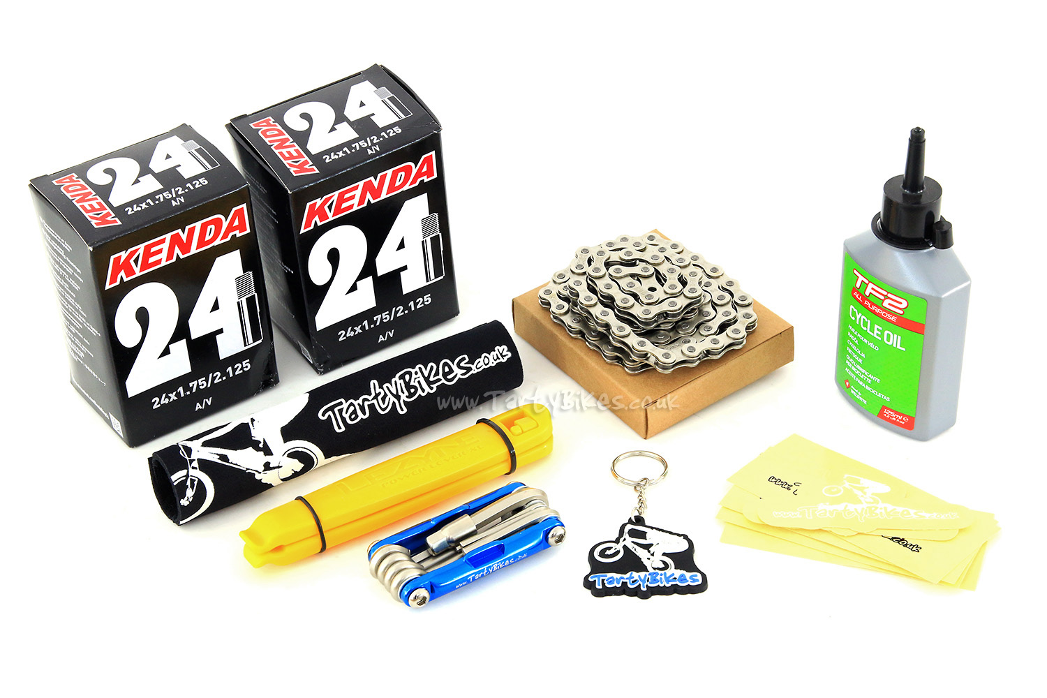 TartyBikes Essential Gift Pack