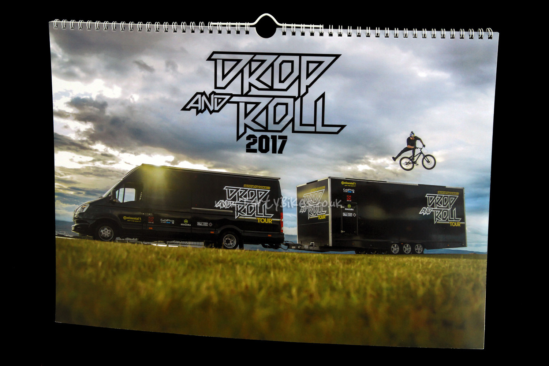 Danny MacAskill's Drop and Roll Tour 2017 Calendar