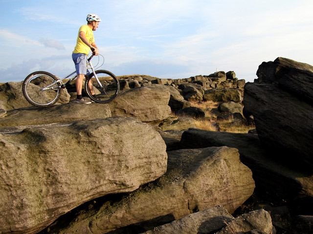 Adam Bessell, Blackstone Edge, July 2014