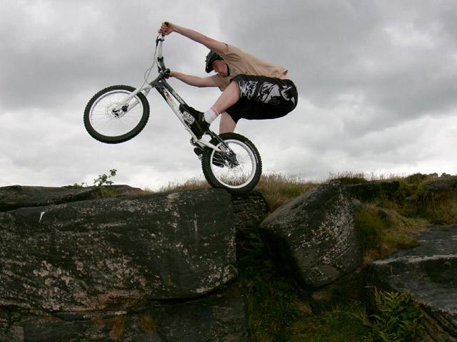 Adam Read, Shipley Glen, June 2008