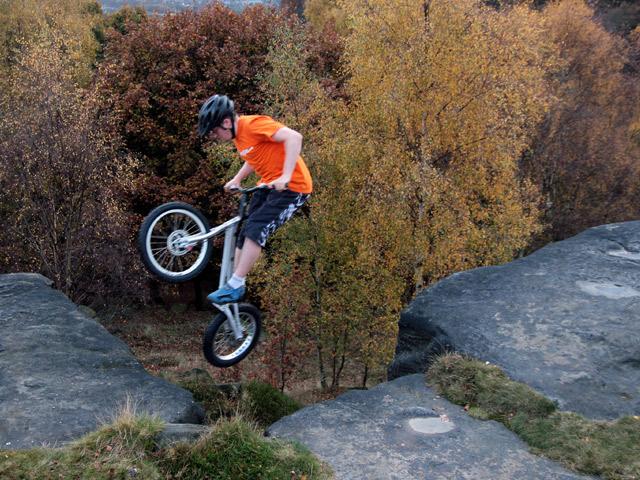 Adam Read, Shipley Glen, October 2009