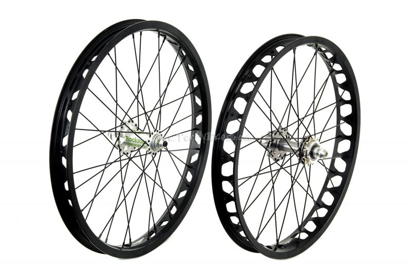 "TartyBikes Custom Black/Silver Disc 19/20"" Wheelset"