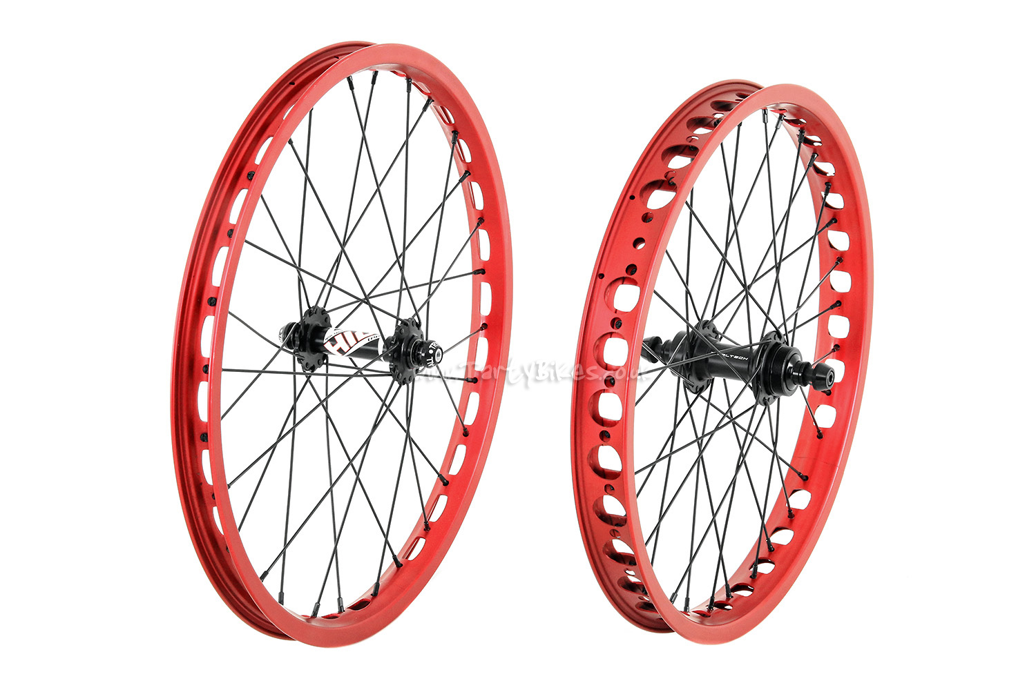 "TartyBikes Custom 19/20"" Non-Disc Wheelset"
